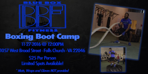 BBF Boxing Boot Camp - FB Flyer