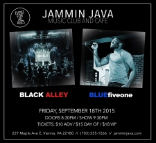 Black Alley and BFO at Jammin Java - Flyer
