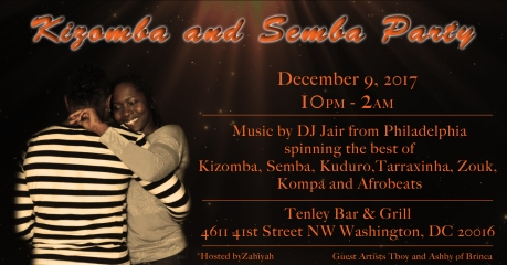 Kizomba and Semba Party - FB Flyer